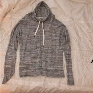 Lou & Grey Funnelneck Pullover/ XS (gray)